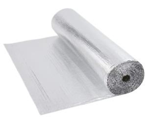 25m Single Aluminium Bubble Foil Insulation Loft Home Caravan 1m Wide