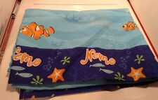 DISNEY PIXAR FINDING NEMO FISH TWIN BED SIZE FLAT SHEET ONLY