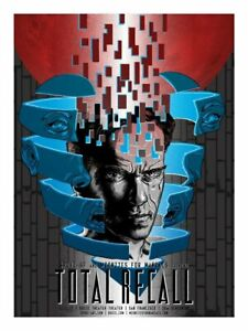 Total Recall by Tim Doyle Signed AP Screen Print