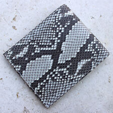 Genuine Python Leather BiFold Purse Handmade Snake Skin Men's Wallet