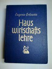 Hauswirtschaftslehre, Kochbuch, Haushalt, Rezepte, antik, Band 1