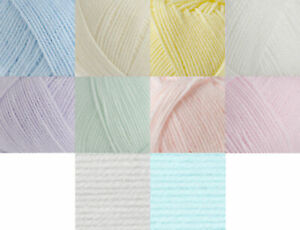 400g Ball James Brett Baby DK Knitting Yarn & Free Pattern 100% Acrylic Wool
