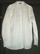 Edle Business Bluse ETERNA Gr. 48 weiß, Baumwolle Stretch, Langarm