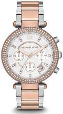 Michael Kors Ladies' Rose Gold Parker Chronograph Watch MK5820