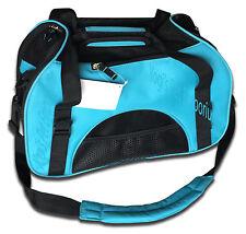 Blue - Pet Carrier Oxford Soft Side Dog/Cat Airline Approved Shoulder Bag Small