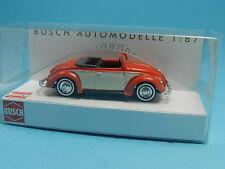 BUSCH 46710 VW HEBMÜLLER CABRIO ROT 1:87