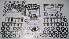 MGB Doors Boot/Tailgate - Stainless Refurb Kit