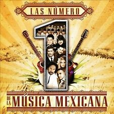 Las Numero 1 De La Musica Mexicana Numero 1 De La Musica Mexicana CD