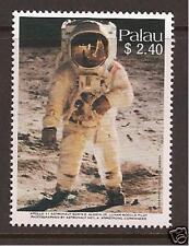 "PALAU # 219 FIRST MOON LANDING 20TH ANNIVERSARY ""Buzz"" Aldrin"