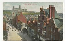 High Street Lincoln 1906 Harrison Postcard, A930
