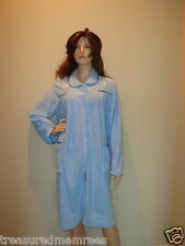 Croft & Barrow Plush Duster Sleepwear Robe  ~ Size Large (14-16) ~ NWT