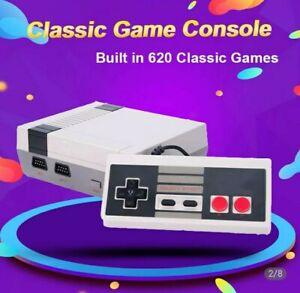 Console de jeux style Nintendo Nes 620 jeux intégrés