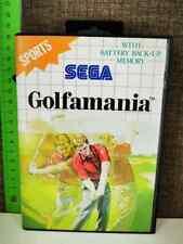 SEGA MASTER SYSTEM GIOCO GOLFAMANIA ORIGINAL VINTAGE TOY