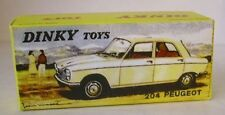 Repro box Dinky nº 510 peugeot 204 multicolor