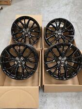 """Genuine Range Rover Sport SVR 21"""" Style 5091 Gloss Black Alloy Wheels & Tyres"""