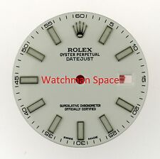Original Men's Rolex Datejust II 116300 116334 White Luminous Stick Dial SS #L71