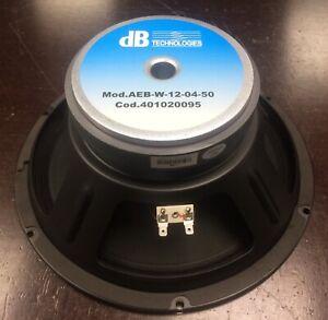 """Woofer 12"""" AEB W-12-04-50 per dB Technologies Cromo 12 Club"""