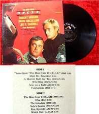 LP The Man from U.N.C.L.E. (hugo Montenegro) 1965 TV Serie Robert Vaughn