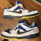Nike Oncore 60 Skate Shoes 313661 402 White Blue Black Yellow Mens Sz 75