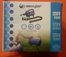 Sevylor 120V 120 Volt Air Pump 2.5 PSI Air Compressor Heavy Duty Extension Hose