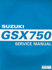 Suzuki GSX750 1997 Service Manual