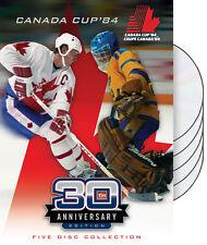 Canada Cup 1984 Hockey Tournament Canada vs USSR 5 DVD Set 9 Original Broadcasts