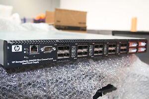 HP AW576A StorageWorks SN6000 Fibre Channel FC 24 Port Switch 8GB