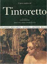 TINTORETTO L'OPERA COMPLETA RIZZOLI 1970 CLASSICI DELL'ARTE 36