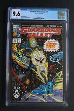 GUARDIANS OF THE GALAXY #13 1st Original COSMIC GHOST RIDER 1991 Thanos CGC 9.6