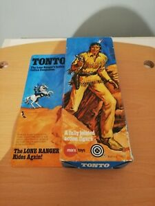 Marx Lone ranger tonto boxed.