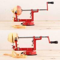 3in1 Apfel Birnenschäler Corer Slicer Kartoffelschneider Dicer Fruit Parer P8H7