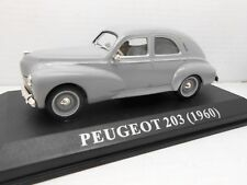 COCHE PEUGEOT 203  IXO ALTAYA 1960 1/43 1:43 METAL MODEL CAR MINIATURE alfreedom