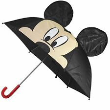 "DISNEY Mickey Mouse Per Bambini 26"" Ombrello con Orecchie di Pop Up"