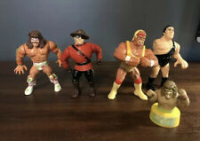 WWF WWE WCW Vintage 1991 Titan Sports Hasbro Ultimate Warrior Figure Lot Read