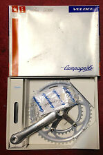 Guarnitura Campagnolo Veloce Exa-drive bike crankset 170 10s v made in Italy