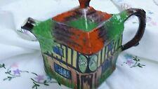 Vintage Royal Winton Ye Olde Inne Handpainted Tea Pot
