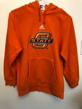 MENS Small Adidas Hoodie with Pouch Pocket Oklahoma State University ncaa