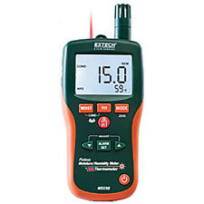 Extech Mo290 Nistl Pinless Moisture Psychrometer Amp Ir Withlimited Nist