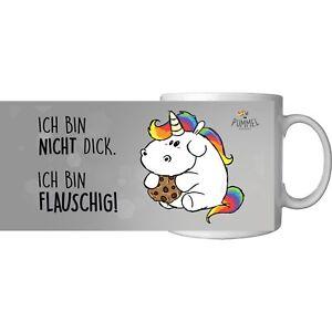 """Pummeleinhorn - Tasse """"Flauschig"""", ca. 320ml NEU/OVP"""