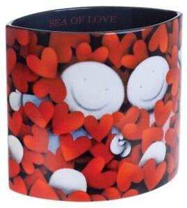 Doug Hyde Sea of Love Vase by John Beswick / Dartington Crystal
