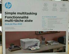 HP INK-JET DESK JET PLUS 4140 - COPIER - PRINTER - FAX - SCANNER -  DUAL WI-FI