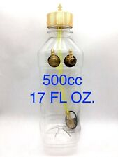 500ml (cc) 17oz Clear Fuel Tank with Metal Cap for RC Airplane Gasoline Engine