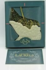 Lenox 1996 Christmas Gold Series Sleigh Ornament In Box (1Zre)
