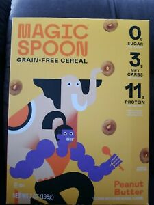 Magic Spoon Grain-Free Breakfast Cereal Keto Low Carb Protein PEANUT BUTTER