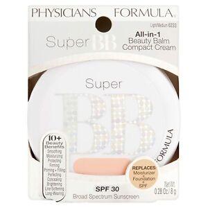 Physicians Formula Super BB Beauty Balm Compact Cream 6233 Light/ Medium