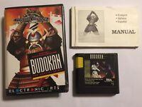 Sega Mega Drive MegaDrive GAME BUDOKAN +BOX INSTRUCTIONS COMPLETE PAL