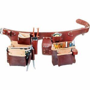 Occidental Leather 5191M Pro Carpenter 5 Bag Assembly Tool Belt - Size Medium