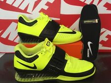 P15 NIKE ROMALEOS 3 Weightlifting Shoes UK 14 EU 49.5 US15 852933-700 Volt Black