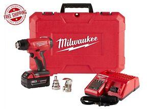 Milwaukee 2688-21 Compact Heat Gun w/LED Light & XC5.0 Battery NEW FREE SHIPPING