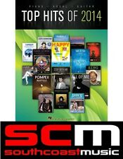 The Top Hits of 2014 PVG Music Book - Piano Vocal Guitar